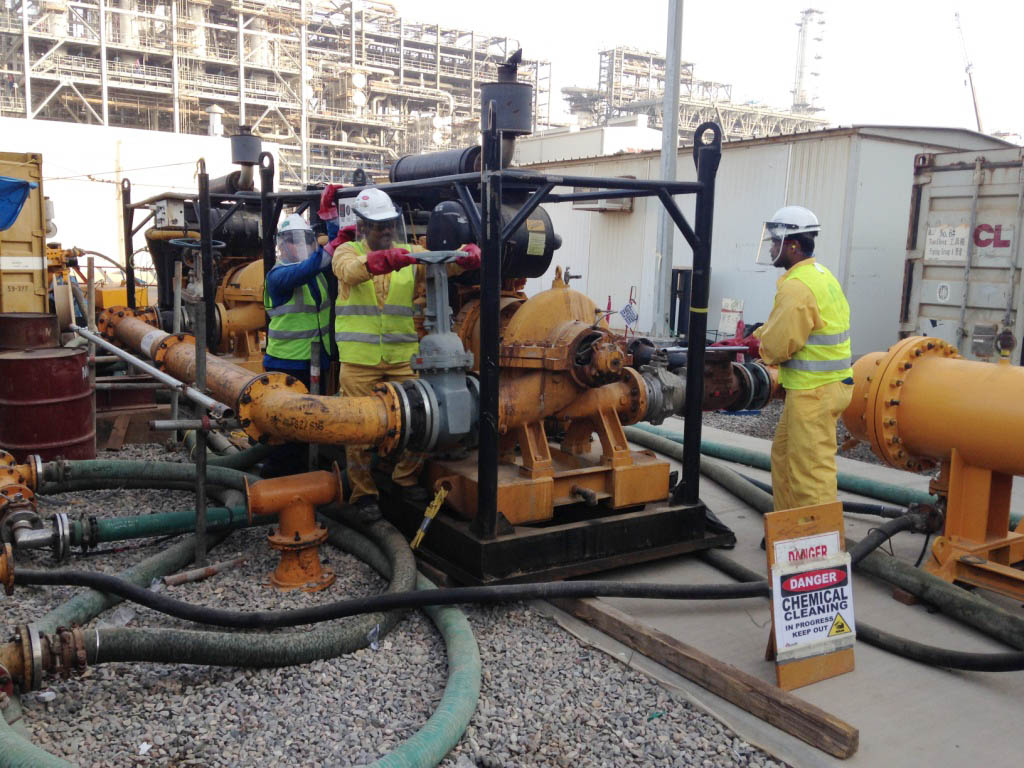 Anabeeb Chemical Cleaning And Pre Commissioning