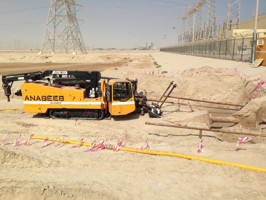 Anabeeb | Horizontal Directional Drilling (HDD)